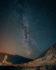 Photo voie lactée étoiles